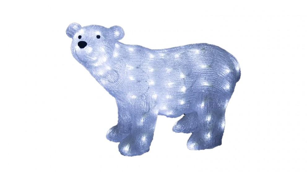 Lexi Lighting Acrylic Polar Bear - Small