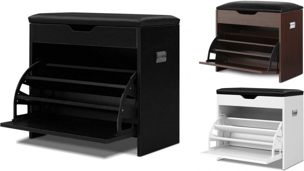 Artiss 3 Tier Shoe Cabinet Storage