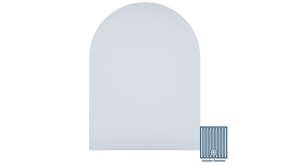 Thermogroup Ablaze Aspen 750x1000mm Church Shape Mirror with Hanger Including Demister