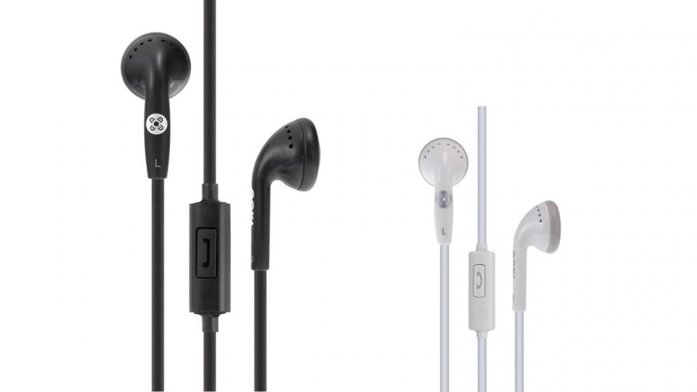 Moki Stereo In-line Mic and Control Earphones