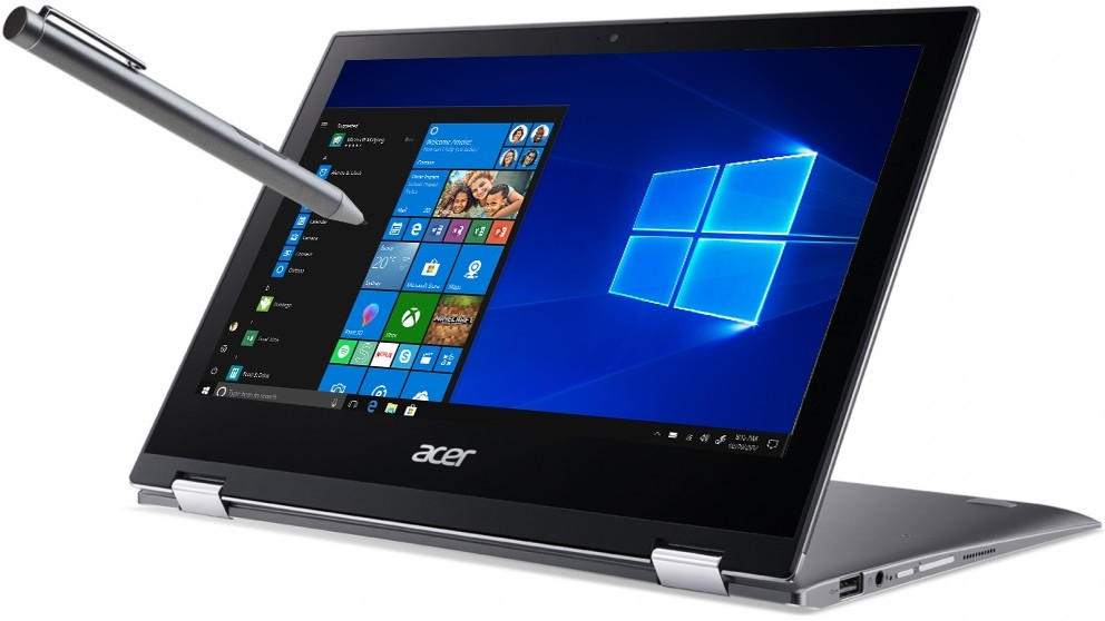 Acer Spin 1 SP111-32N-C4C7 11.6-inch 2-in-1 Modern PC Laptop