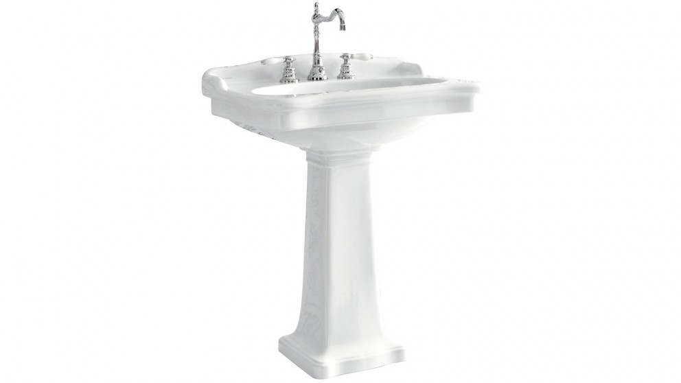 Parisi Hermitage Pedestal Basin with 1 Tap Hole