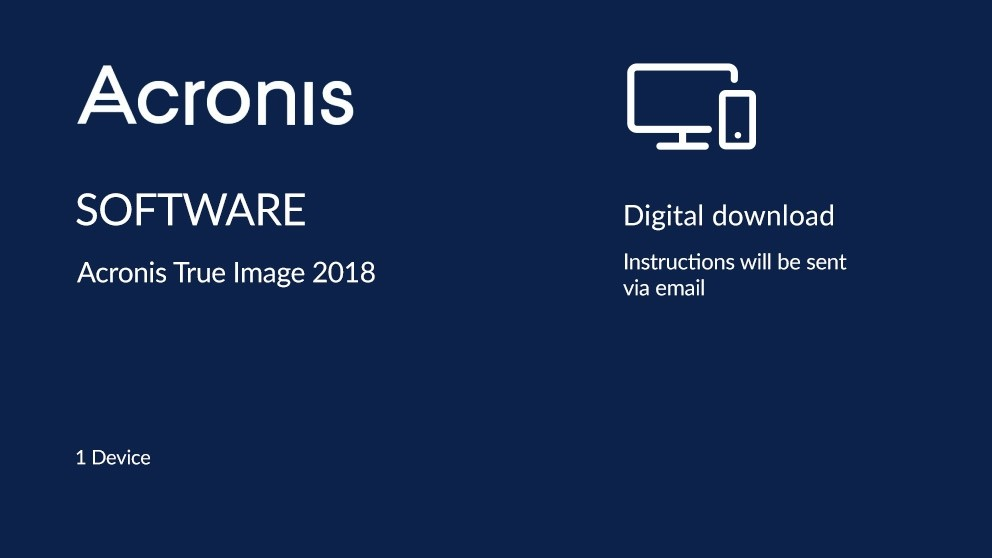 Acronis True Image 2018 How To Back Up Your Computer Or