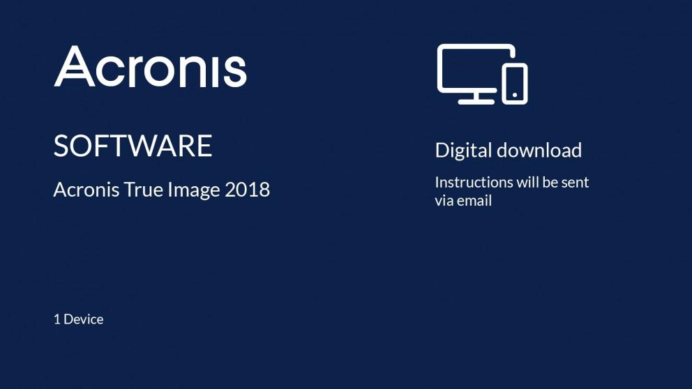 acronis true image 2018 installer download
