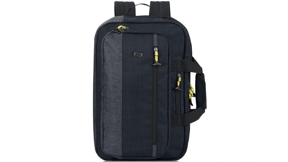 "Solo Velocity 15.6"" Hybrid Backpack - Black"