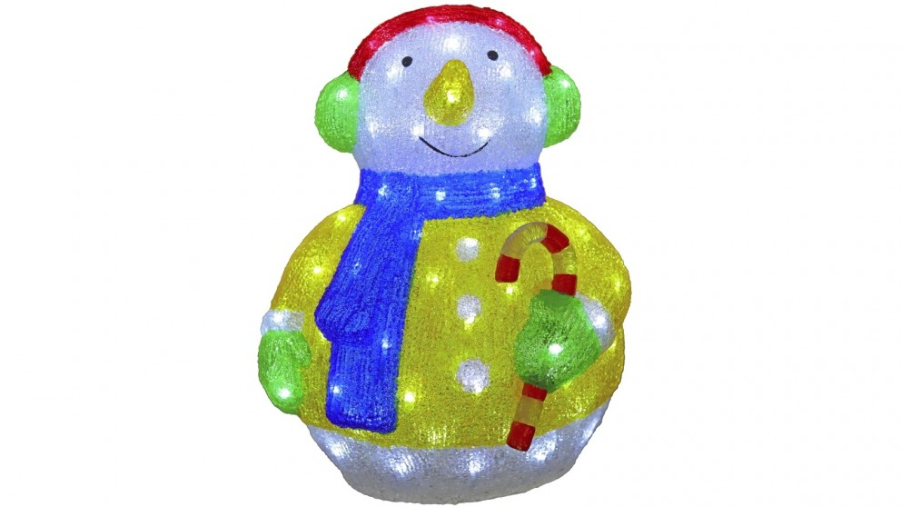 Lexi Lighting 50cm Acrylic Snowman