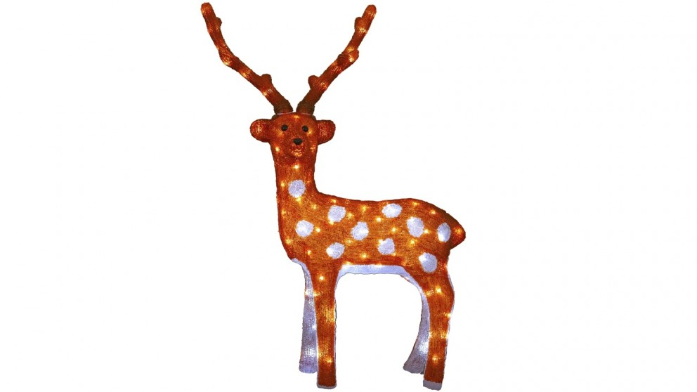 Lexi Lighting 83cm Acrylic Reindeer
