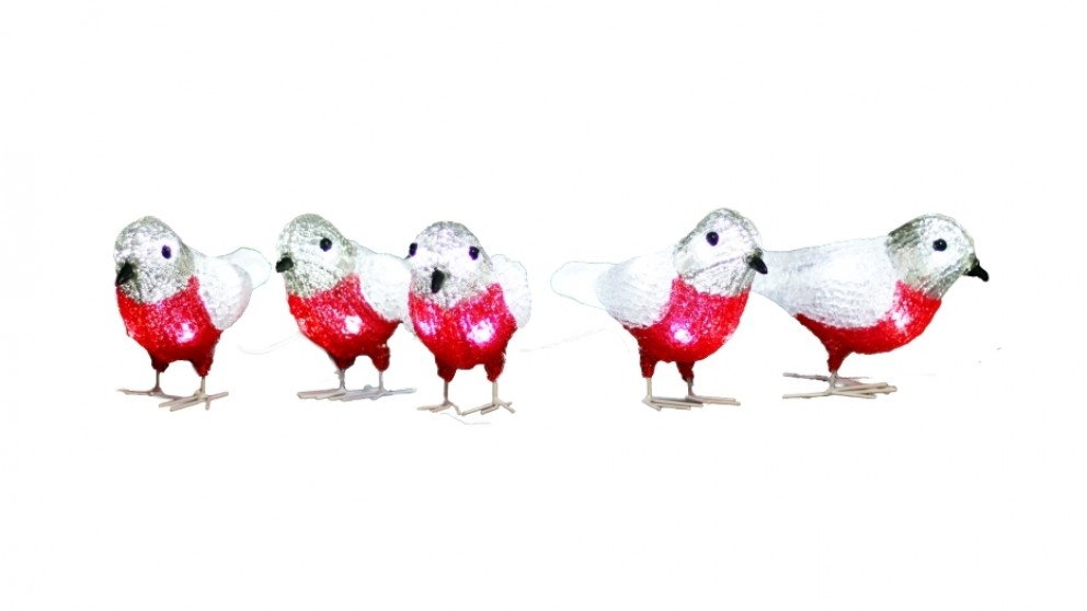 Lexi Lighting Acrylic Baby Bird - 5-Piece Set