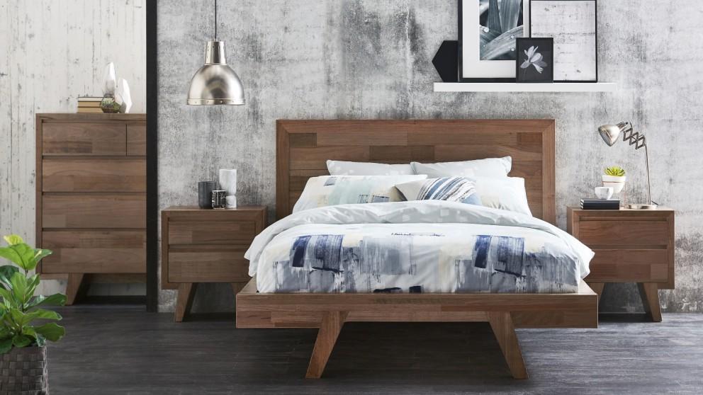 Buy Adamson Queen Bed | Harvey Norman AU