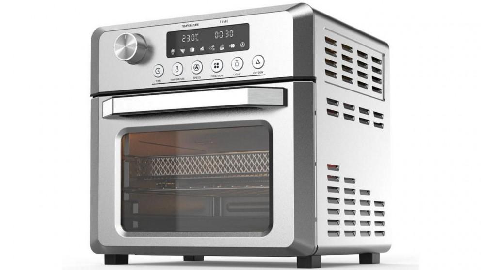 Pronti 18L 1500W Electric Air Fryer Multi Cooker Oven - Silver