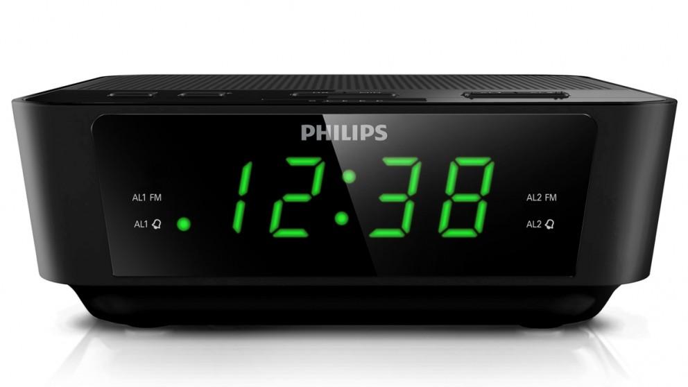 Philips FM Digital Clock Radio