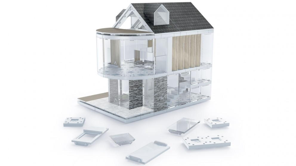 Arckit 90 Architectural Model Building Design Kit