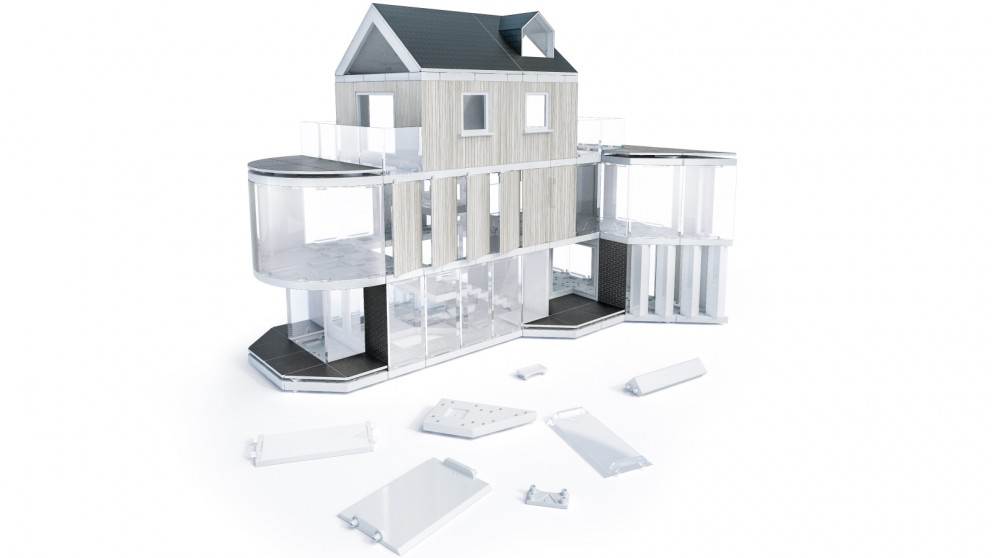 Arckit 180 Architectural Model Building Design Kit