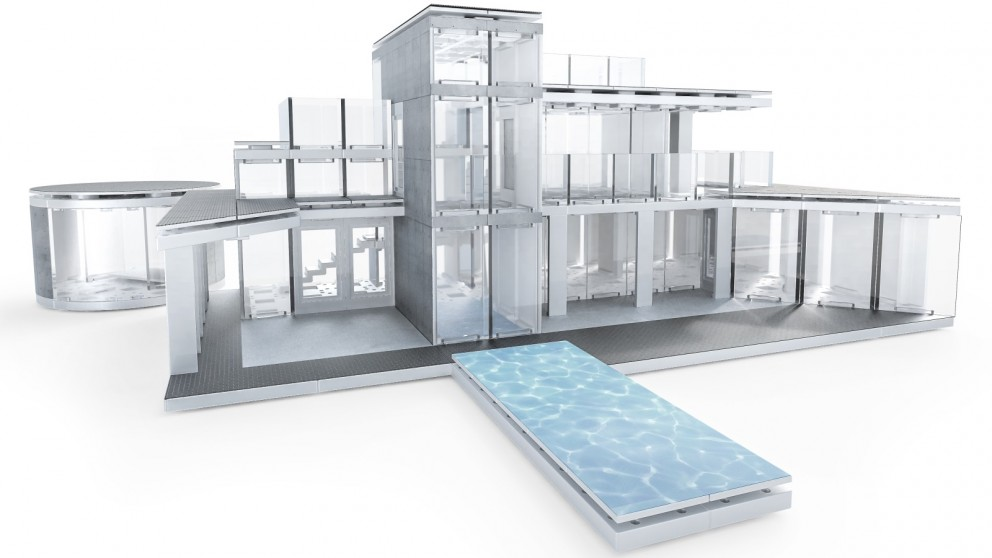 Arckit 360 Architectural Model Building Design Kit