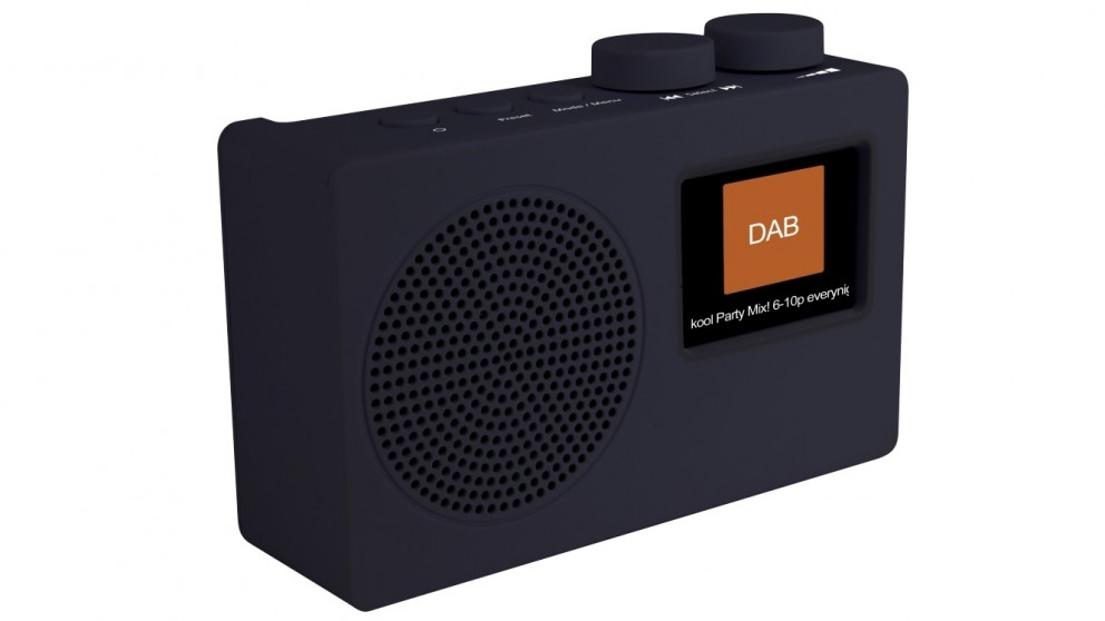 Akai DAB+/FM Portable Radio - Black