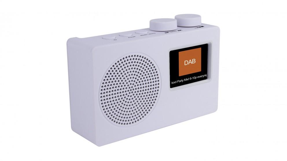 Akai DAB+/FM Portable Radio - White