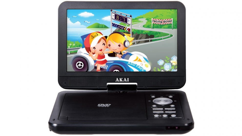 Akai 10.1-inch Portable DVD Player