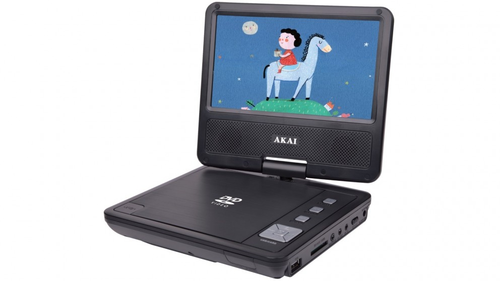 Akai 7-inch Portable DVD Player