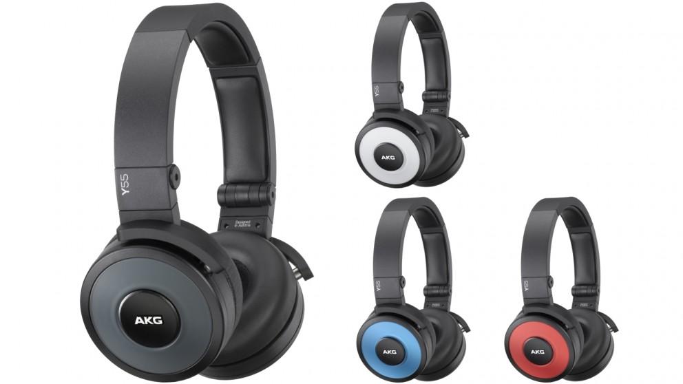 AKG Y55 DJ-Ready On-Ear Headphones