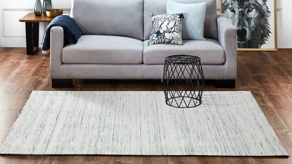 Alana Grey Stripe Medium Rug