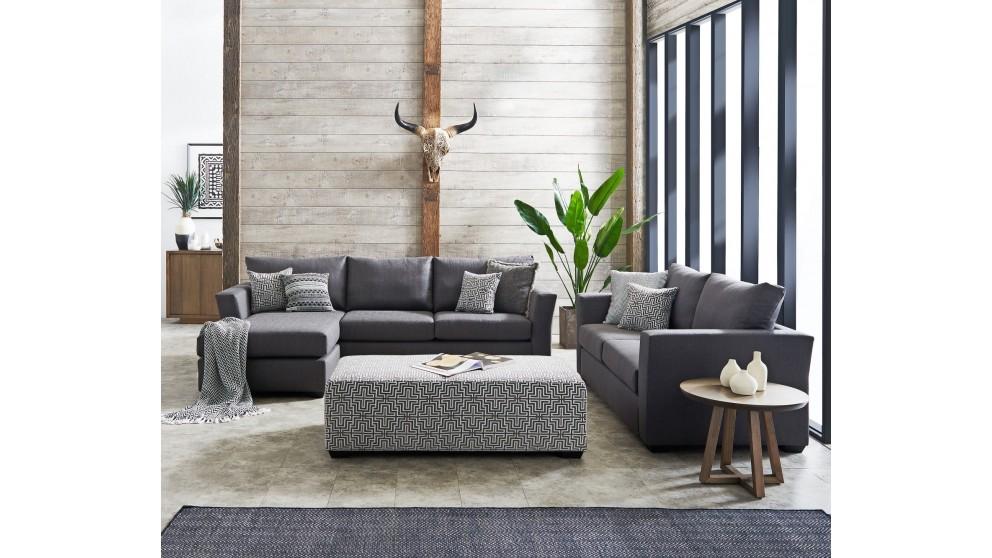 Allendale 3 Piece Fabric Lounge Suite