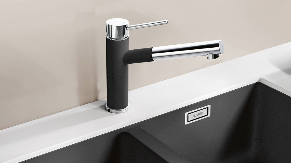 Blanco Altas Pull-Out Spray Tap - Anthracite