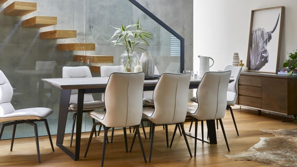buy amaroo 9 piece rectangular dining setting harvey norman au