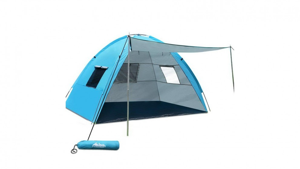 Weisshorn 3-4 Person Beach Sun Shade Shelter for Fishing Sport