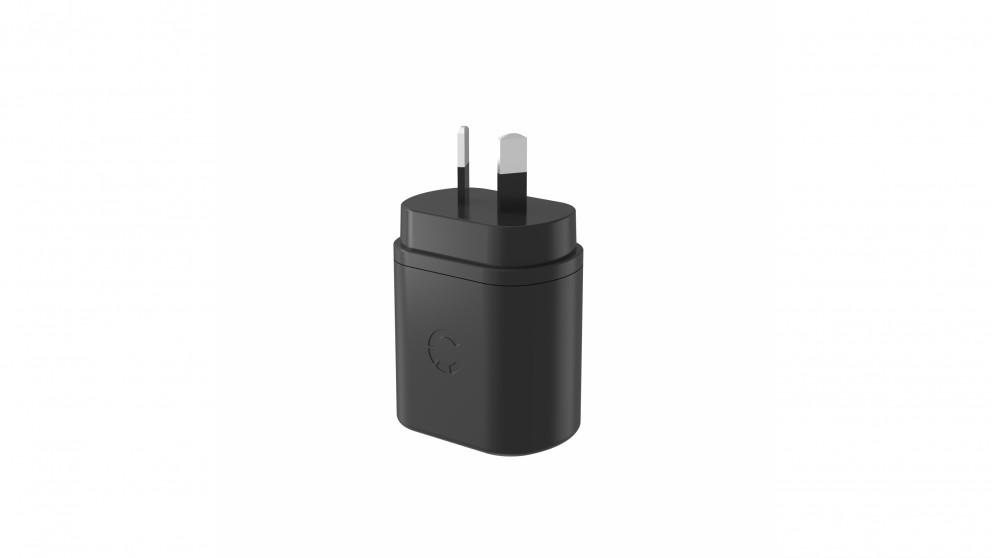 Cygnett PowerPlus 12W Dual USB-A Wall Charger - Black