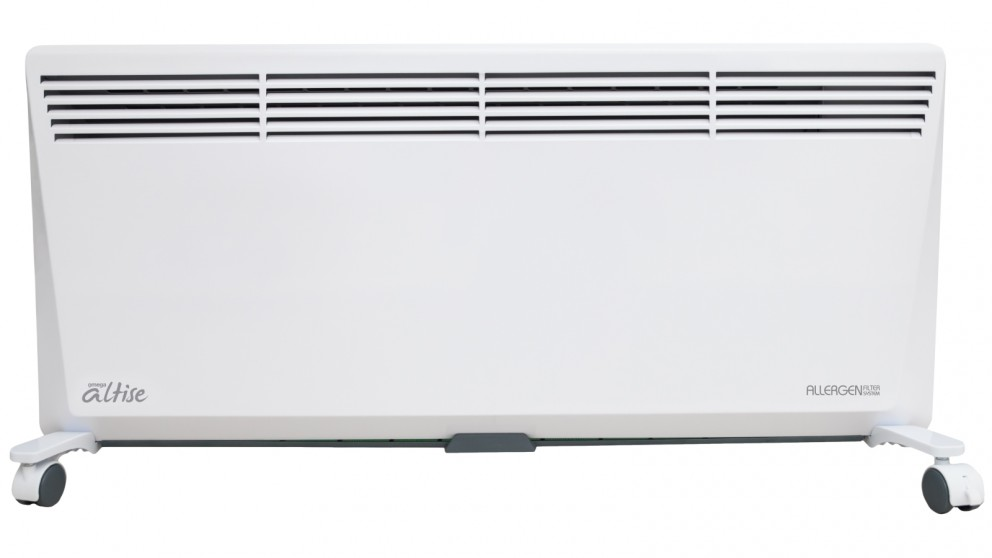 Omega Altise 2400W Panel Convection Heater with Filtration System
