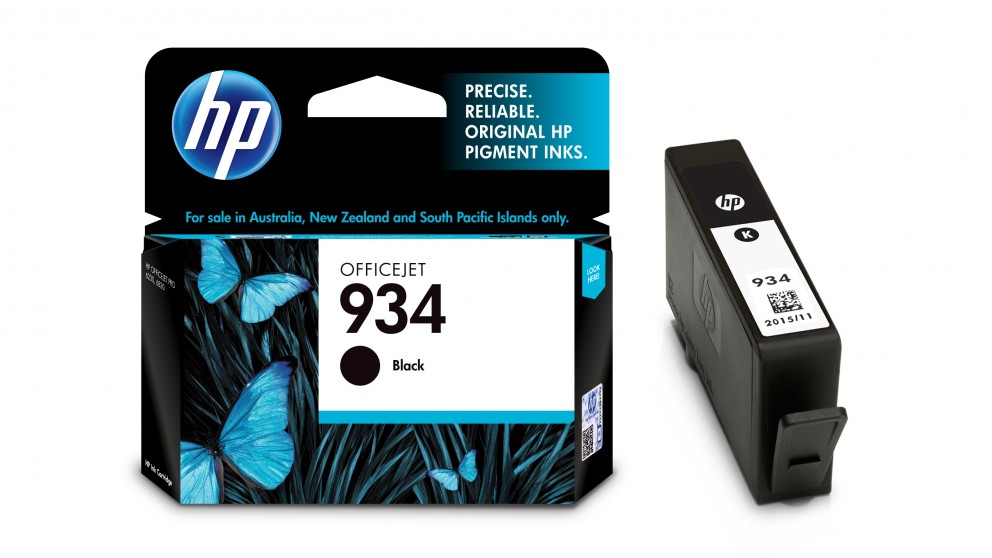 Buy Hp 934 Ink Black Harvey Norman Au