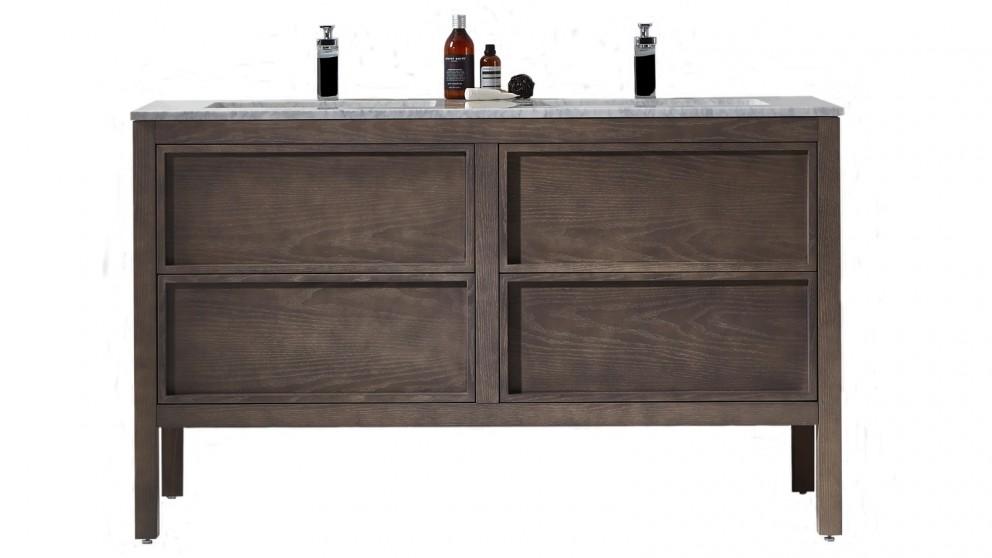 Parisi Arrivo 1400 Floor Cabinet and Wash Basin - Cashmere Oak