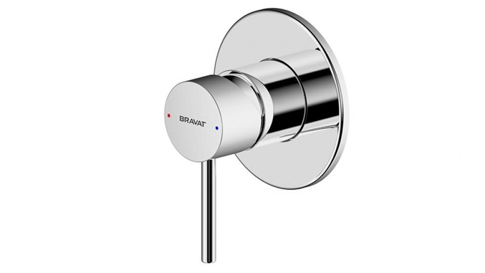 Bravat Arc Complete Bath/Shower Mix - Chrome