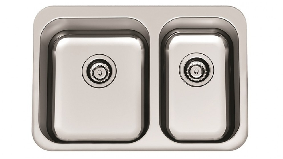 Clark Arctic 1.5 Bowl 1 Tap Hole Overmount Sink