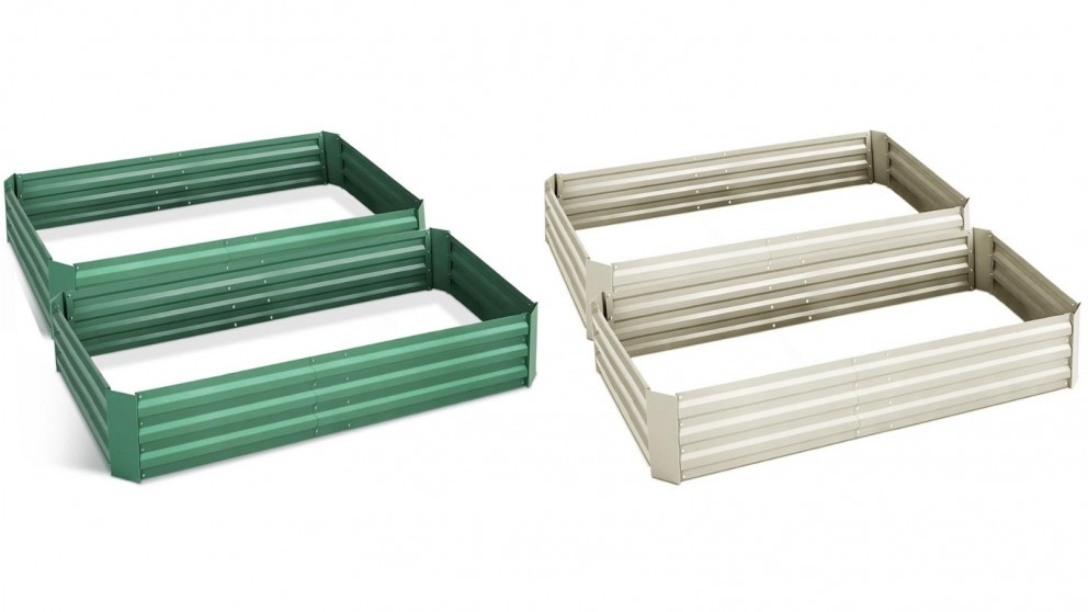 Green Fingers 2-Piece 150x90cm Garden Bed