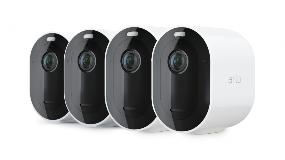 Arlo Pro 3 2K QHD Wire-Free Security 4-Camera System