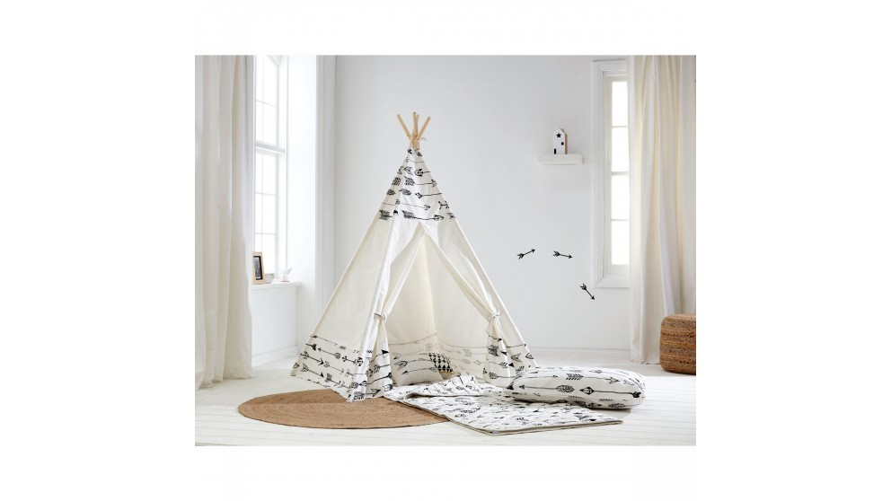 Arrow Tee Pee Tent  sc 1 st  Harvey Norman & Arrow Tee Pee Tent - Kids Beds u0026 Suites - Bedroom - Beds ...
