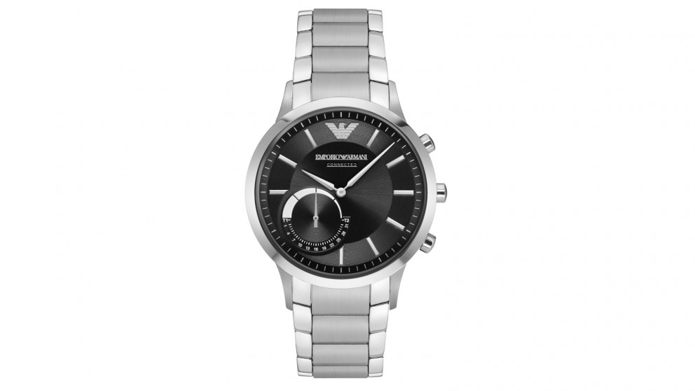 ac441bd749bc Buy Emporio Armani Hybrid Smart Watch - Silver Black
