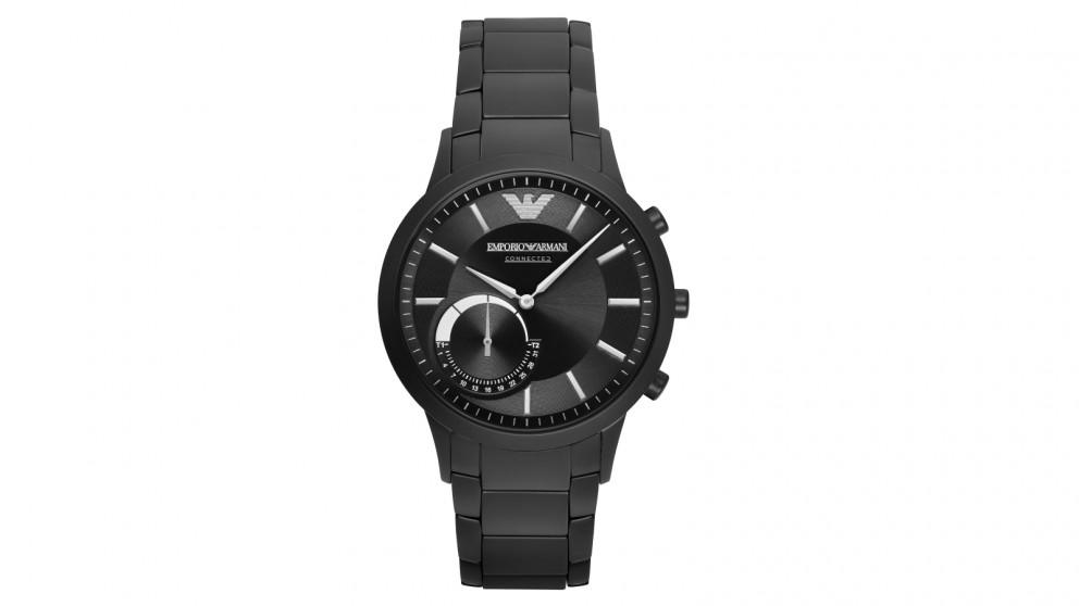 Emporio Armani Hybrid Smart Watch - Black