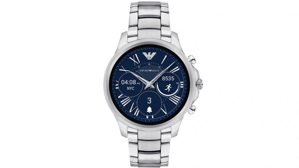 Emporio Armani Display Smart Watch - Silver
