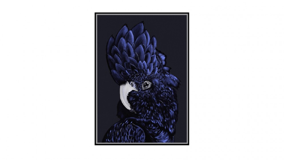 Cooper & Co. Ready To Hang Blue Cockatoo Wall Art - 140x100cm
