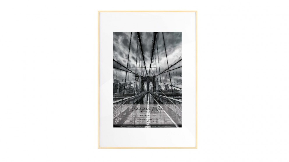 Cooper & Co. A1/A2 Platinum Metal Frame - Gold