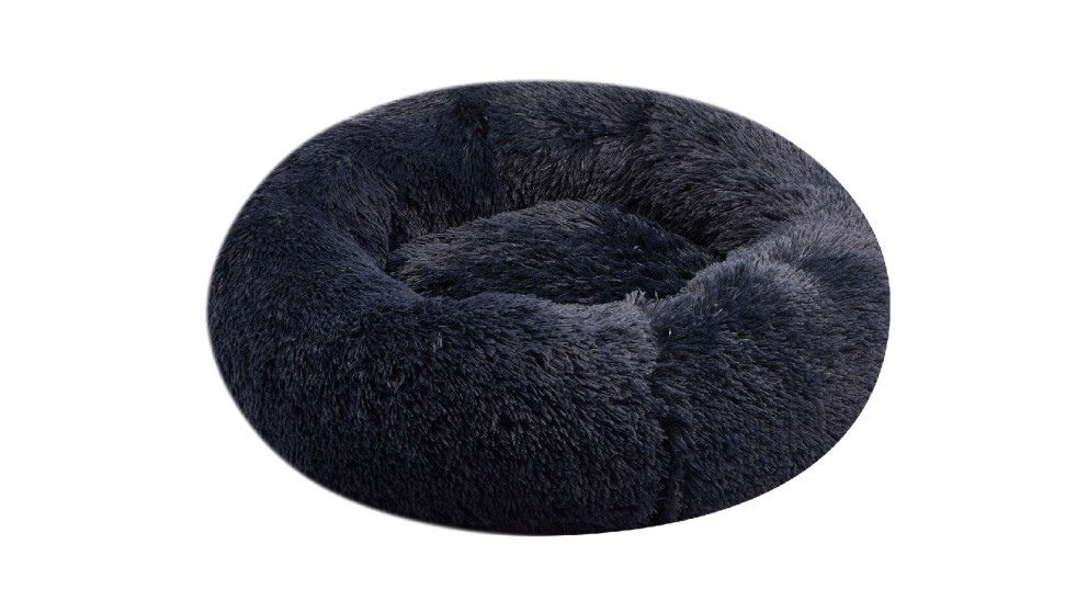 Cooper & Co. Pet 60cm Mini Round Soothing Pet Bed - Navy