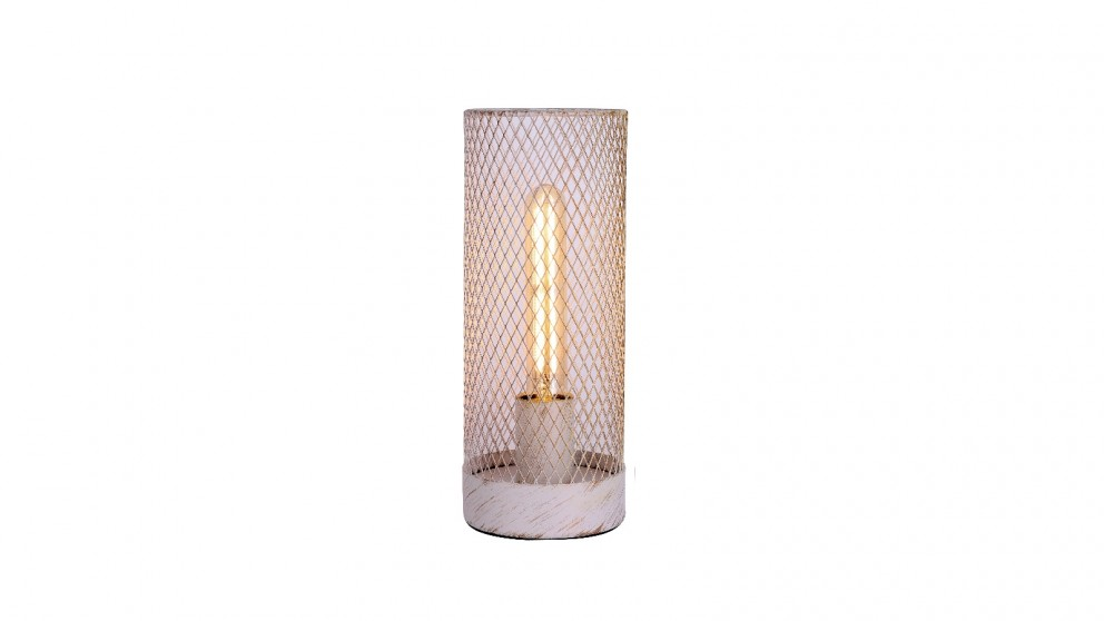 Lexi Lighting Clara Touch Table Lamp - White
