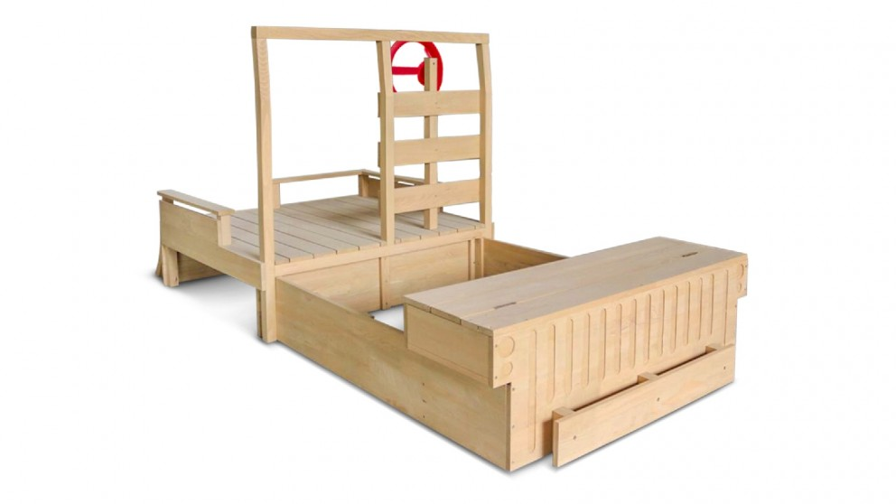 Lifespan Kids Wrangler Retractable Sandpit & Play