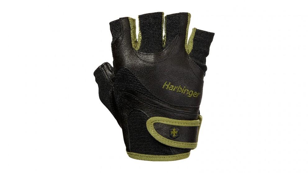 Harbinger Green Flexfit Gloves - Medium