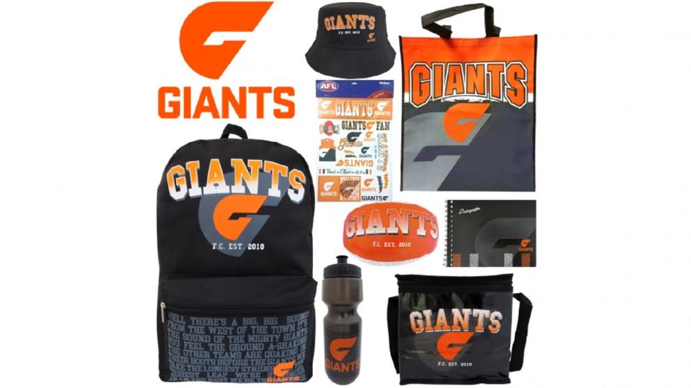 AFL GWS Giants Showbag
