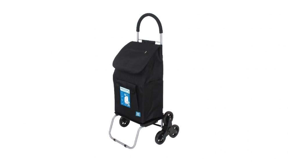 White Magic Handy Trolley with Climbing Wheels - Black