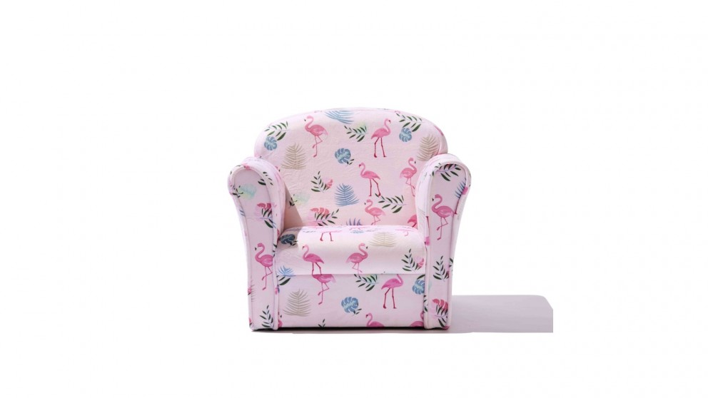 Central Baby District Kids Armchair - Flamingo