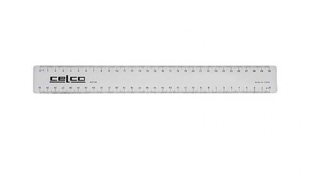 Celco 30cm Metric Ruler